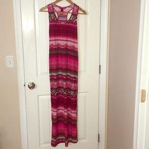 Hot 💋Kiss Maxi Dress - L